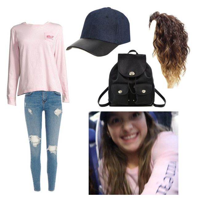 """Annie Leblanc"" by harrycake11 on Polyvore featuring Coach, Vineyard Vines and Phase 3"