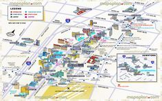 tourist information 3d best hotels casinos locations major landmarks shopping malls outlets centers mandalay bay luxor mgm grand hooters new york new york cosmopolitan paris eiffel towers Las Vegas top tourist attractions map