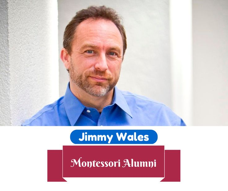 """Co-founder of Wikipedia, Jimmy Wales was a avid reader as a child with an acute intellectual curiosity. This he credits to the influence of the Montessori Method on the school's philosophy of education. According to him he ""spent lots of hours pouring over the Britannicas and World Book Encyclopedias"" #Montessori #Alumni"