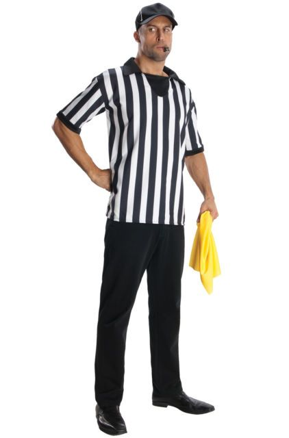 Brand New Official Referee Sport Games Men Adult Costume in 2019 ... 368faf801