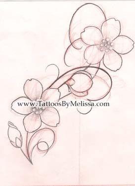 apple blossom tattoo - Google Search