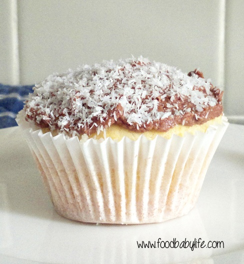 Lamington Cupcakes for Australia Day © www.foodbabylife.com