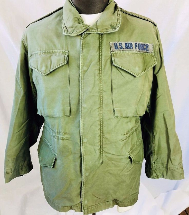 U. S. Air Force USAF Unisex Size Small Short  M65 Cold Weather Field Jacket #Military Listed 10.30.17 Sold 11.1.17