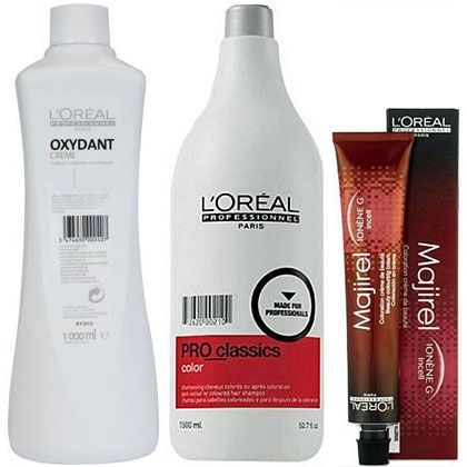 30,99 PLN -- L'OREAL MAJIREL profesjonalny zestaw do koloryzacji -- L'Oreal Majirel 10.21 -- oksydant 9%