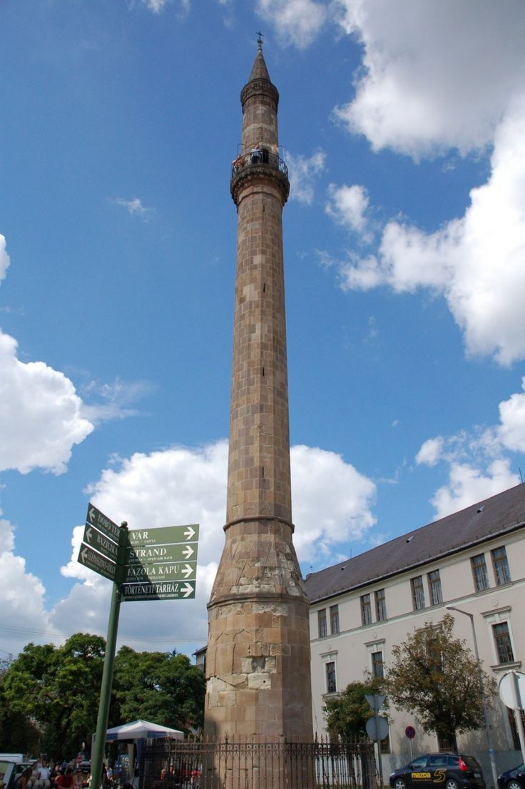 Turkish minaret. This was one of my 11 year old son's favorite things about Eger. It made history (and Assassin's Creed) come to life.