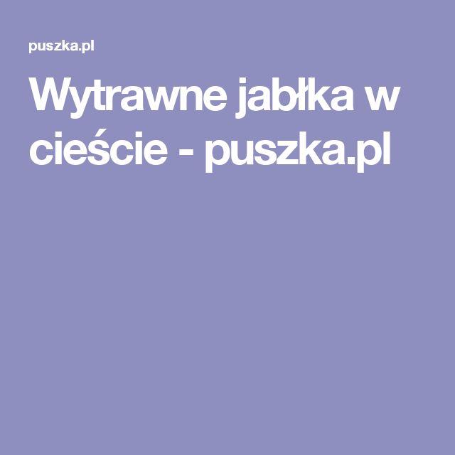 Wytrawne jabłka w cieście - puszka.pl