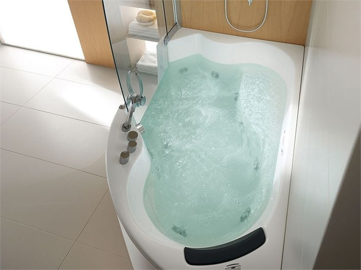 bathtub idea would solve my desire to have jetted tub. Black Bedroom Furniture Sets. Home Design Ideas