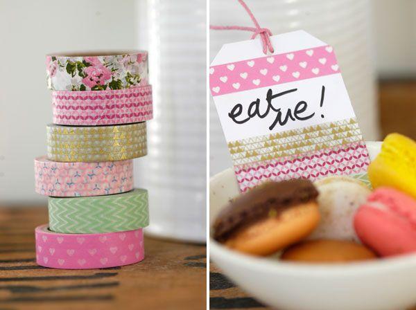 Washi Tapes - Spring hues