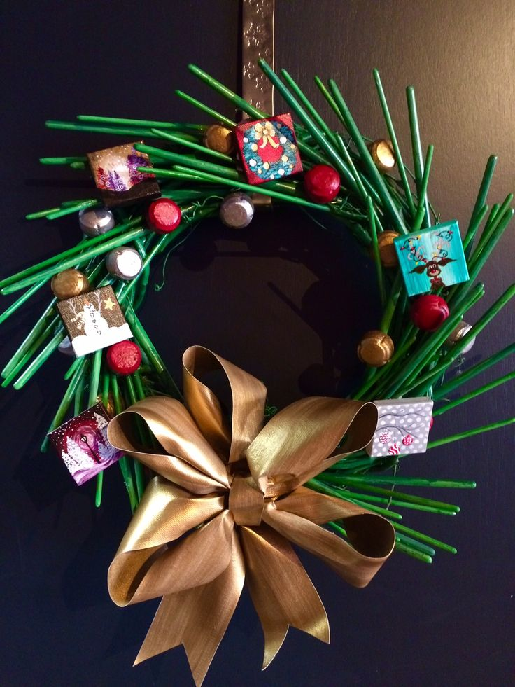 30 best Holiday Wreath Contest Artist Submissions images on