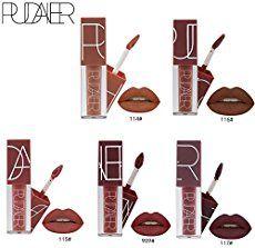 Molie Rouge à Lèvres Mat Maquillage Femme Lipstick Longue Durée