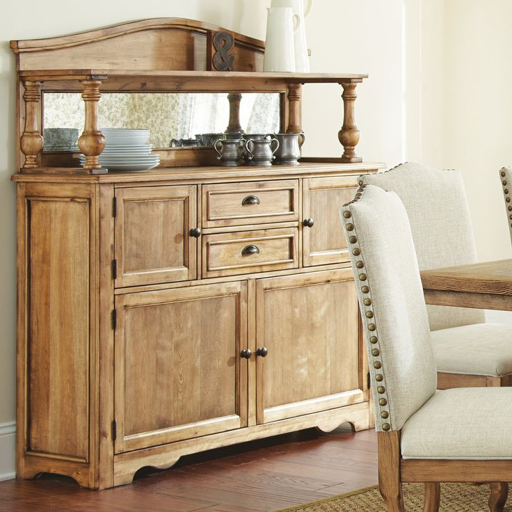 Steve Silver Plymouth Dining Server With Optional Hutch