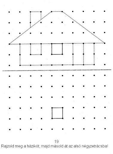 raamfiguren een huis tekenen- of met elastiekjes maken