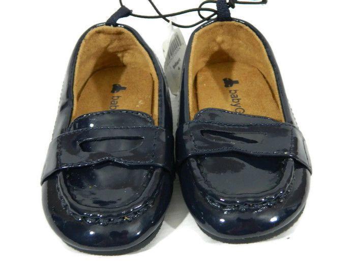 Gap Baby Girls Shoe 4 Navy Blue Loafer