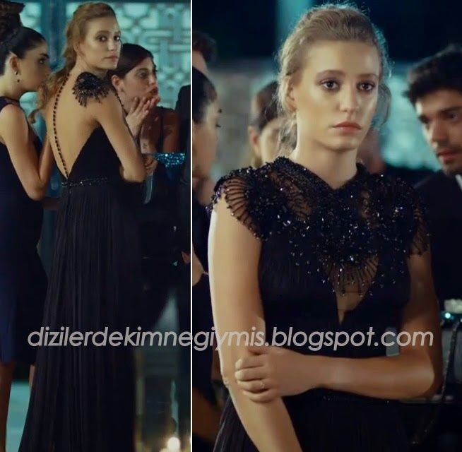 Medcezir - Mira (Serenay Sarıkaya), Black Dress