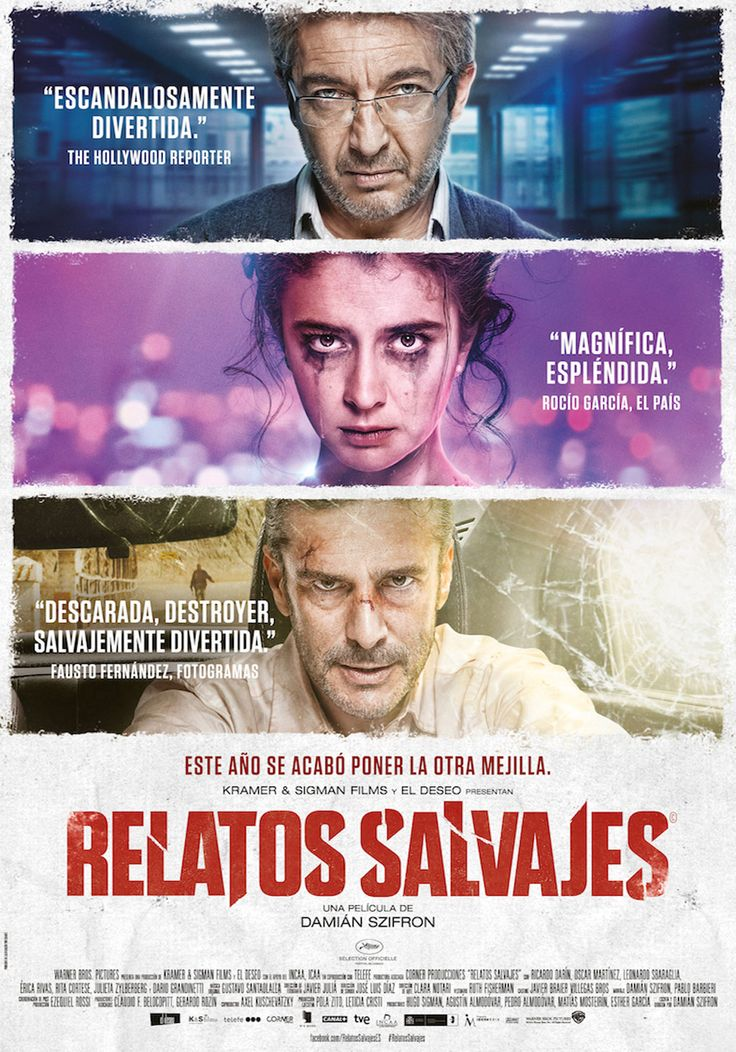 Relatos Salvajes / Dario Grandinetti - Erica Rivas - Oscar Martinez - Ricardo Darin - Leonardo Sbaraglia - Rita Cortese - Julieta Zylberberg