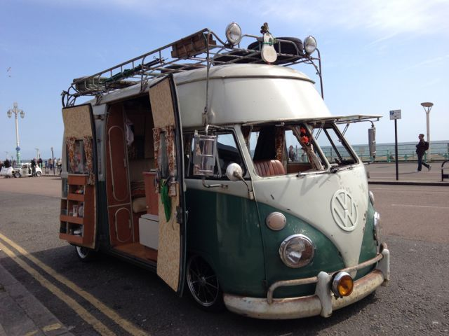 D.H.CULLEN Performance Car Hire - shabby chic VW campervan !?!
