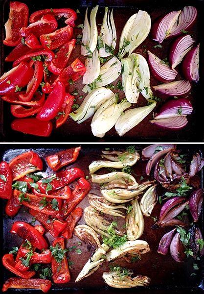 Pečená zelenina - výborná dietní příloha - DIETA.CZ