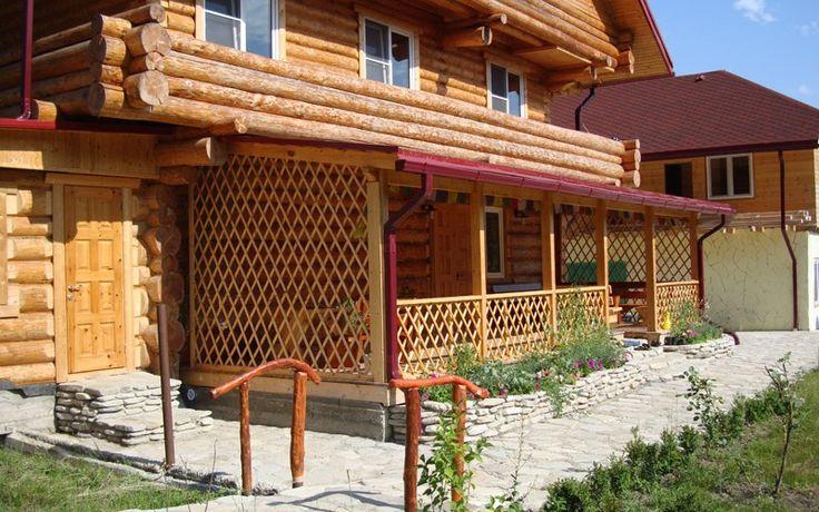 Мой дом - моя крепость!: Как правильно пристроить веранду к деревянному дом...