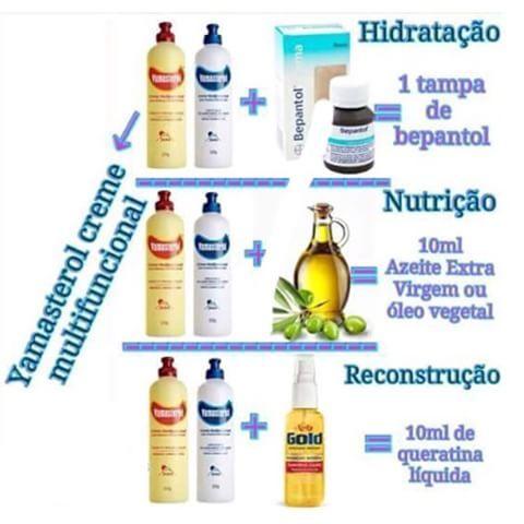 ✅ Hidratação, Nutrição e Reconstrução com Yamasterol  #sos_cabelosecia #yamasterol #hidratação #nutrição #reconstrução #cabelos #cabeloslindos