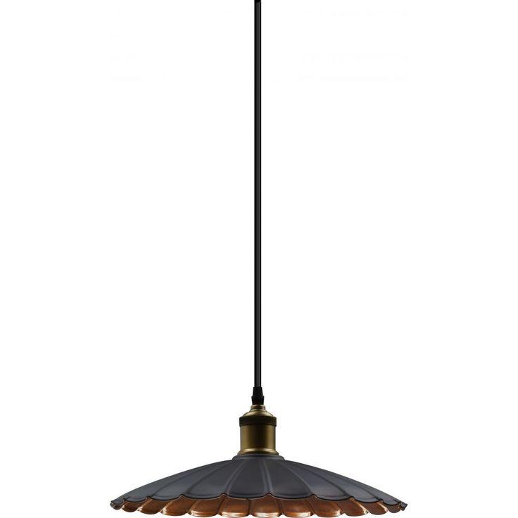 Gabino Medium Pendant Lamp, Brushed Brown