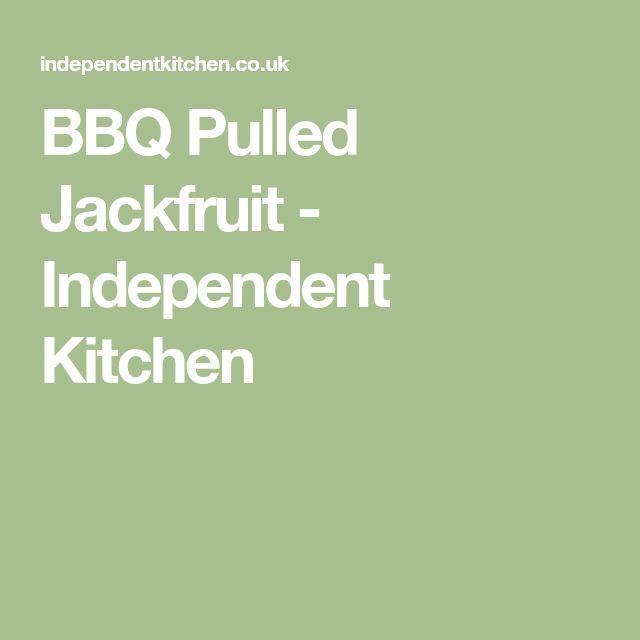 BBQ Pulled Jackfruit - Independent Kitchen