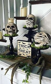 Deliciously at Home - Decor - Organization - Lifestyle: Decoração de Halloween 👻