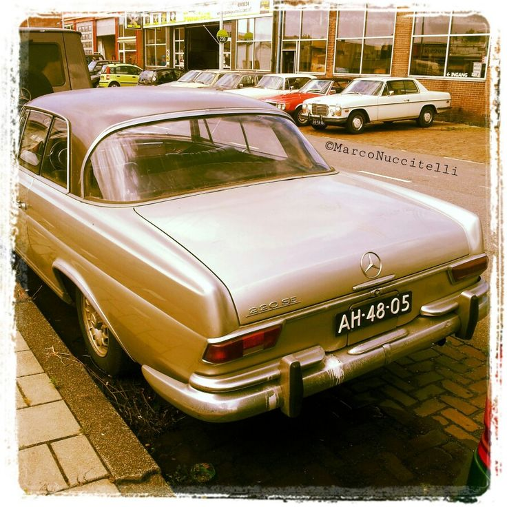 Mercedes in Amsterdam