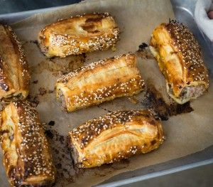 Pork & Apple Sausage Rolls - Careme Pastry