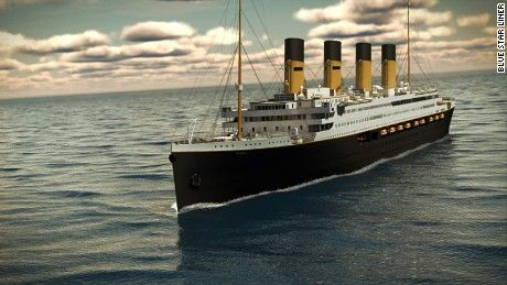 Titanic II to set sail in 2018. (video) I want to go on this so bad!