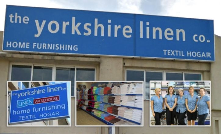 The Yorkshire Linen Prestige shop boasts terrific bedding, drapes and towels, in addition to decorative furnishings, pictures, rugs and beds.