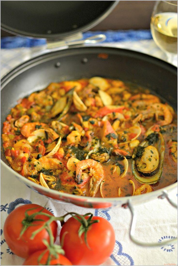 Sweet my Kitchen: Cataplana de marisco