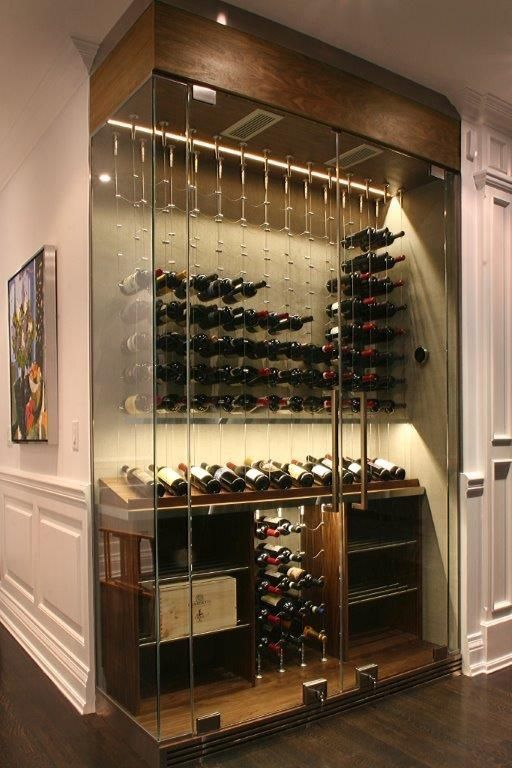 modern cable wine system wine cellar by papro consulting 37