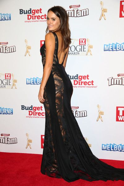 Cassie Howarth arrives at the 57th Annual Logie Awards at Crown Palladium on May 3, 2015 in Melbourne, Australia.
