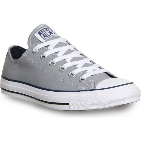CONVERSE All star low-top leather trainers found on Polyvore