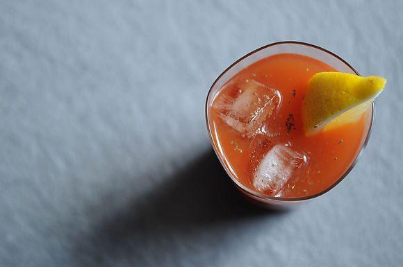Horseradish Vodka Bloody Mary