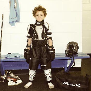 Tron-X – Ensemble d'équipement de protection de hockey 10 pièces pour enfant