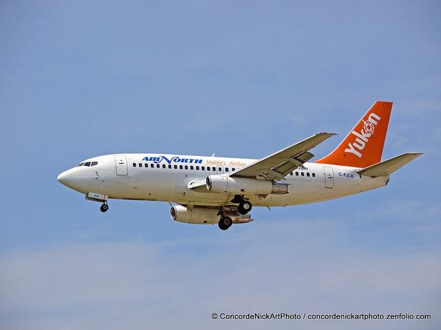 Air North B-737-200 by Concorde Nick, via Flickr