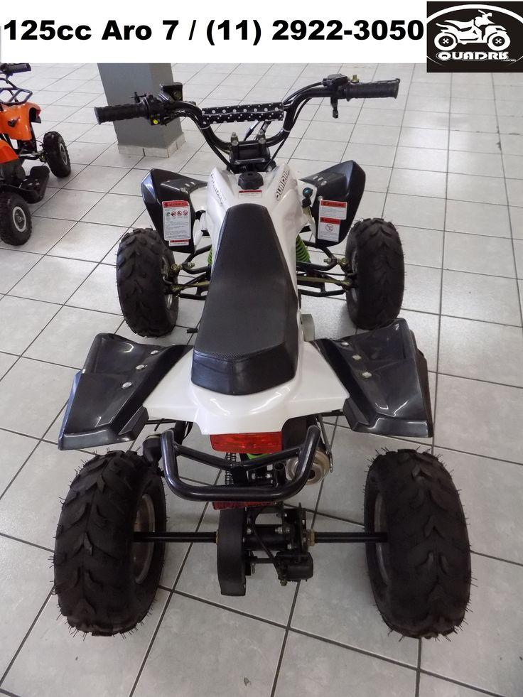 Quadriciclo 125cc Aro 7  www.quadris.com.br  (11) 2922-3050 #quadriciclo #quadris #125CC #criança #moto #kids #infantil #juvenil  #quadricolo #moda #brincar