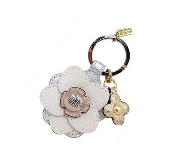 Coach Coach Floral Applique Stacked Key FOB/Ring/Chain/Charm F64298