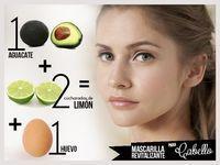 Mascarilla revitalizante para cabello: 1 aguacate + 2 cucharadas de limón + 1 huevo. Consigue que luzca hermoso con este remedio casero.