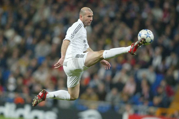 For a big unit, Zinedine Zidane was almost balletic in his touch and movement.