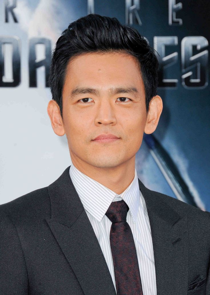 John Cho - #PinItToWinIt #Giveaway - #StarTrekIntoDarkness Limited Edition Phaser and Bluray Gift Set! Go To https://www.facebook.com/MovieRoomReviews/app_228910107186452 to Enter!
