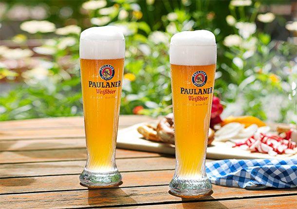 I bicchieri da birra #weisse #paulaner #paulanerweisse #weizenbock #weizenglass #germany #beer