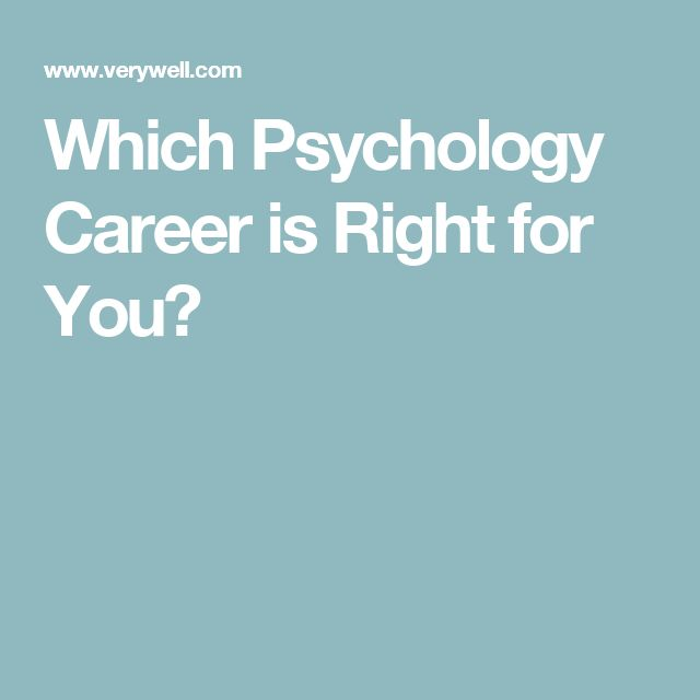 17 Best ideas about Psychology Careers on Pinterest | Psychology ...