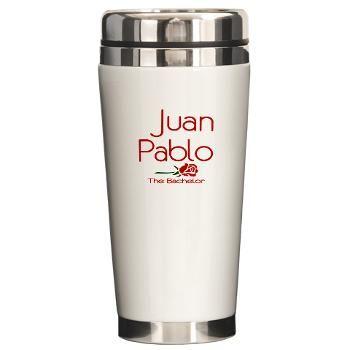 The Bachelor Juan Pablo Ceramic Travel Mug -- #TheBachelor #JuanPablo
