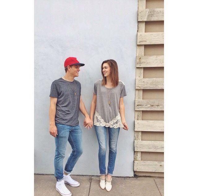 Sadie Robertson and her boyfriend!