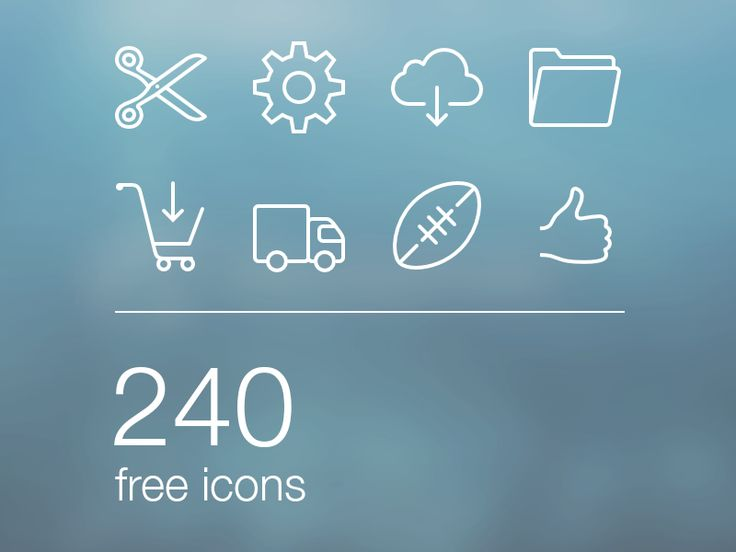 Free iOS7 Icons  by Ivan ✂