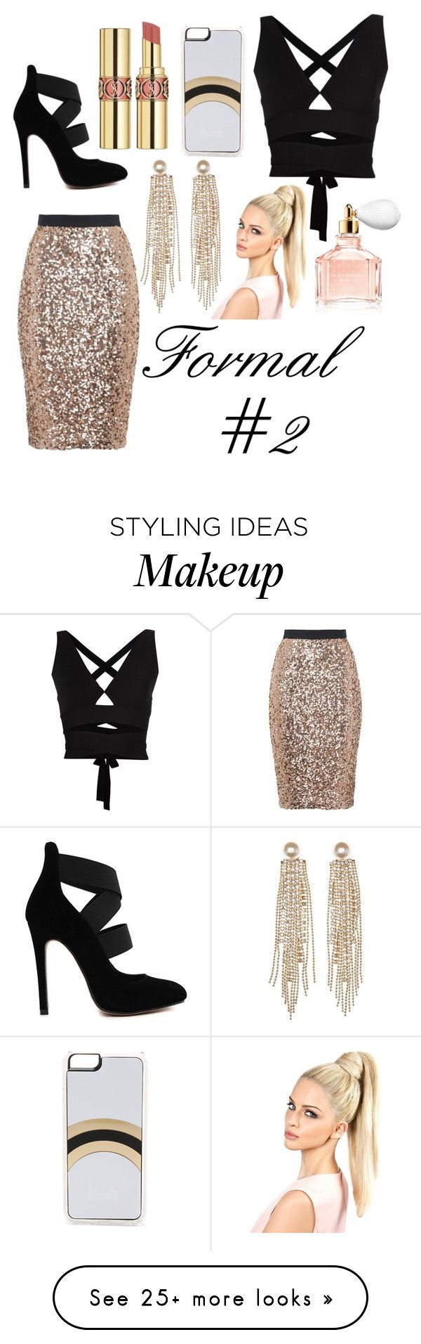 """"" by lhaddock on Polyvore featuring Mode, French Connection, Proenza Schouler, Guerlain, Zero Gravity, Charlotte Russe, Yves Saint Laurent, women's clothing, women's fashion und women"