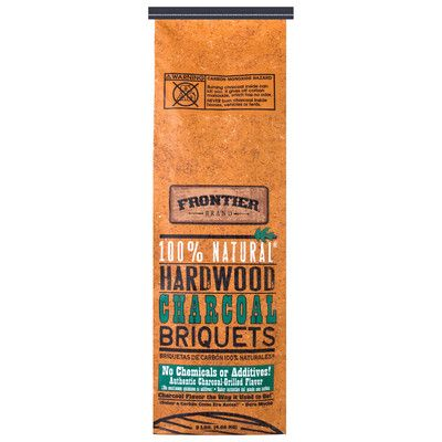 National Packaging Services 9 lbs 100% Natural Hardwood Charcoal Briquets CBN09