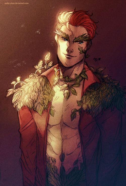 Poison Ivy - Genderbend